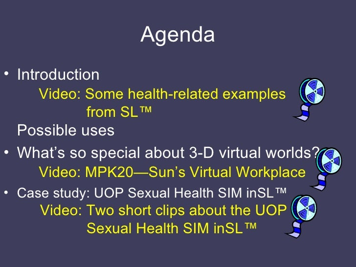 3-D real-virtual worlds for health and healthcare Slide 3
