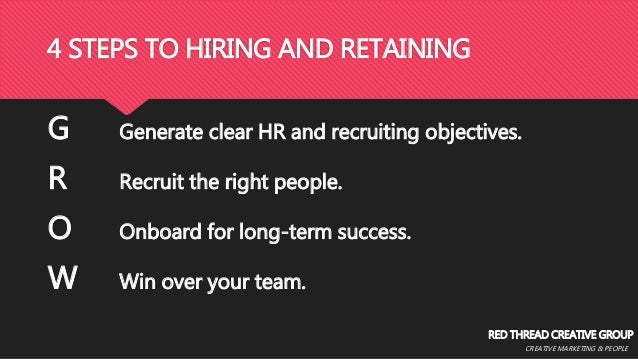 Recruiting and Retention of Gen Y