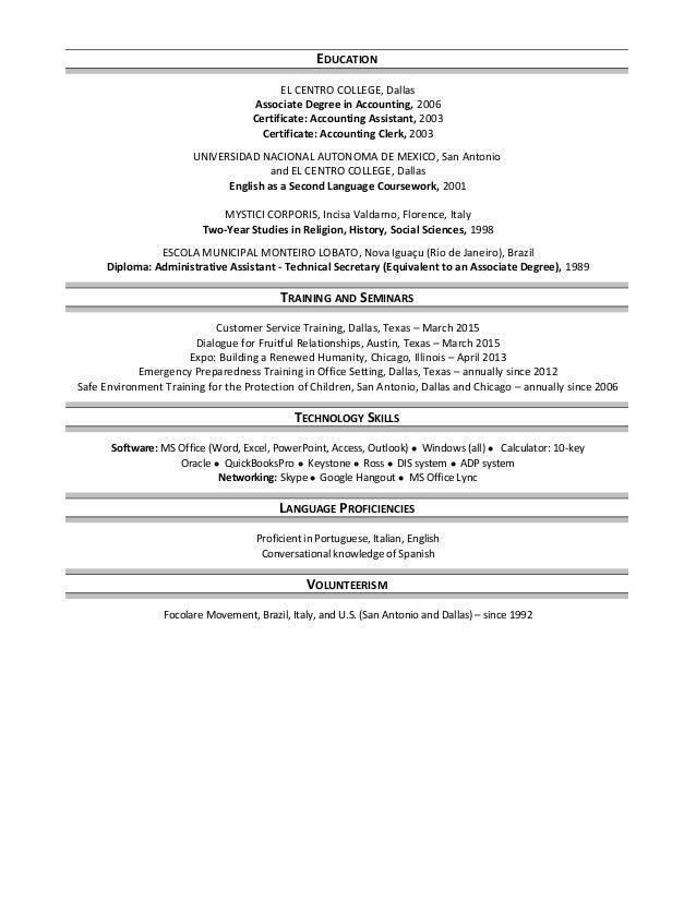 Marcia Barbosa - Resume - Accounts.Payable - as of 10.02.2015