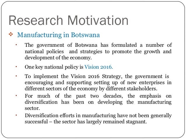 botswanas vision 2016 14 botswana mdgr 2004 vision 2016 botswana prepared this millennium development goals report (mdgr) for a number of reasons one is to discharge a sovereign responsibility as a member of.