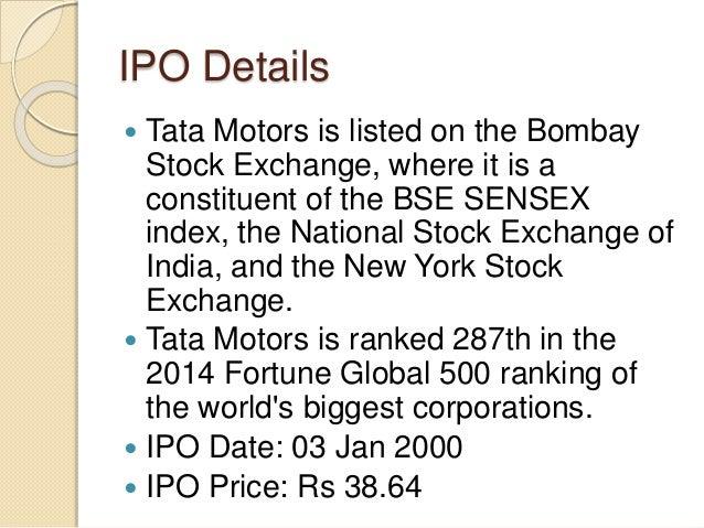 Tata Motors Ipo