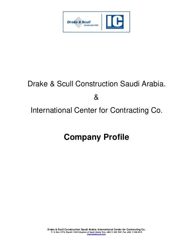 Company Profile DSCKSA ICC 2015