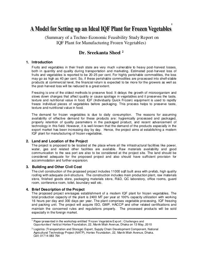 feasibility study 8 essay Feasibility study ( my business plan) •you will be required to work individually in identifying a business idea that will manifest itself into an feasibility study.