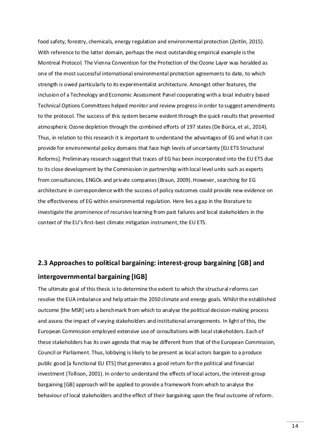 Master thesis european integration process