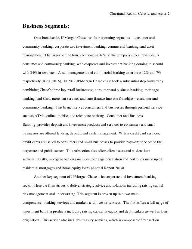 JPMorgan Chase Analysis Project_WC