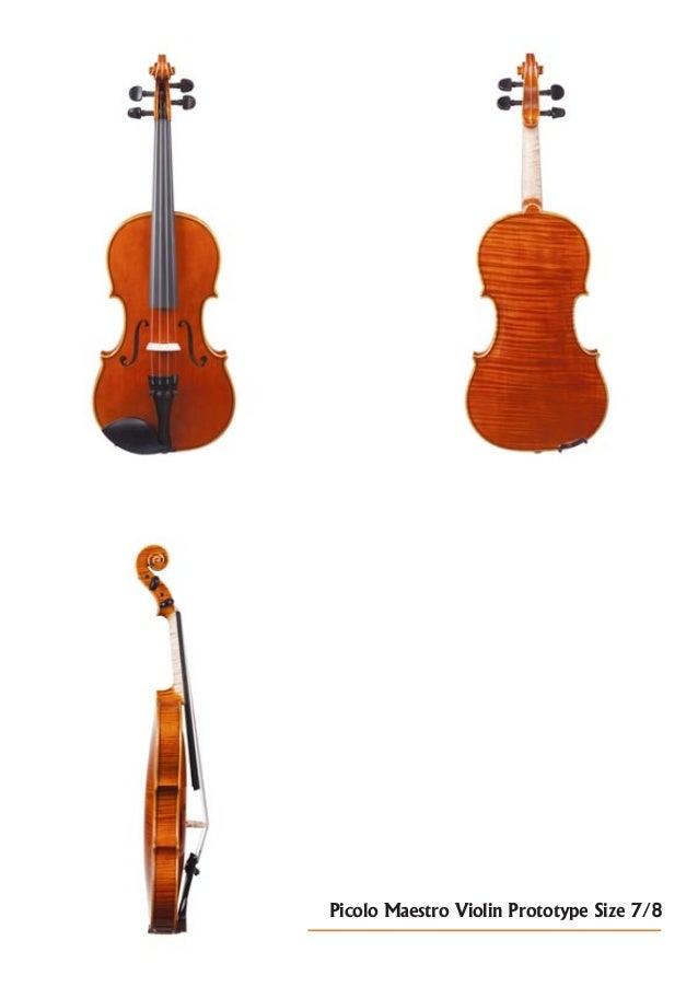 Picolo Maestro Violin Prototype Size 7/8