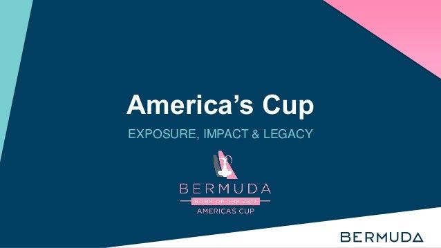America's Cup EXPOSURE, IMPACT & LEGACY