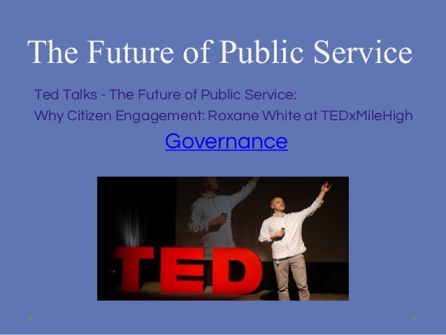 role of social media in public administration
