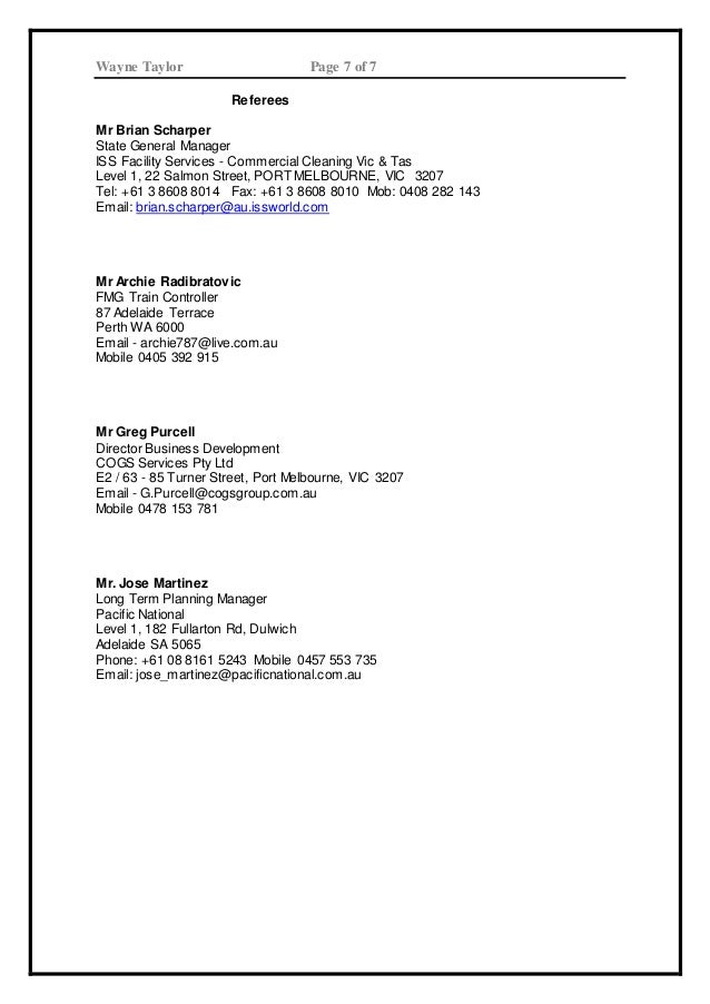 resume w taylor 2015