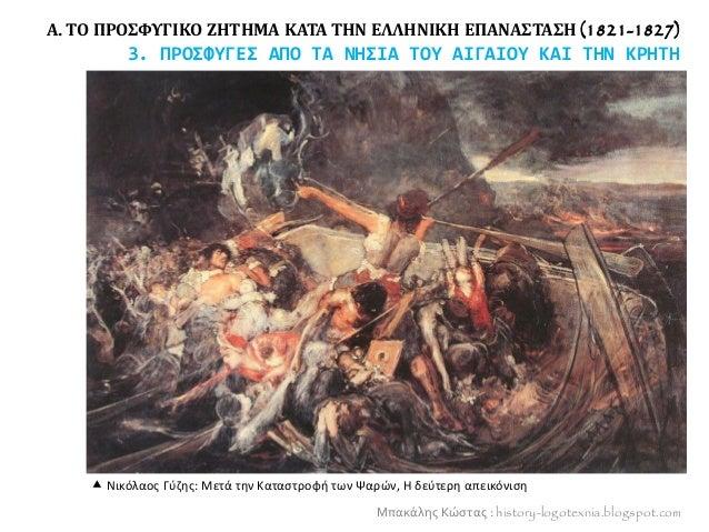 Α. ΤΟ ΠΡΟΣΦΥΓΙΚΟ ΖΗΤΗΜΑ ΚΑΤΑ ΤΗΝ ΕΛΛΗΝΙΚΗ ΕΠΑΝΑΣΤΑΣΗ (1821-1827) 3. ΠΡΟΣΦΥΓΕΣ ΑΠΟ ΤΑ ΝΗΣΙΑ ΤΟΥ ΑΙΓΑΙΟΥ ΚΑΙ ΤΗΝ ΚΡΗΤΗ Μπακά...
