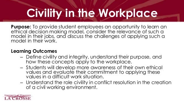 student employee training learning outcomes