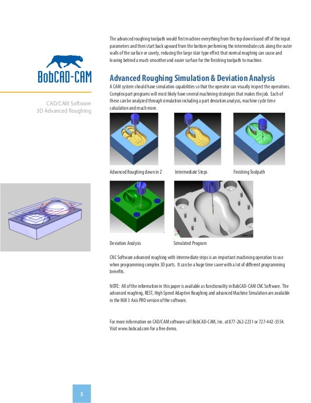 3D Advanced Roughing