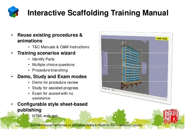 3D and bim technology for construction safety - track 2