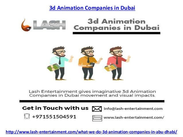 cartoon companies in dubai