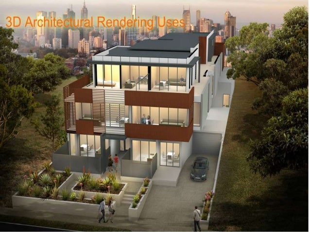 3d Architectural Rendering Uses