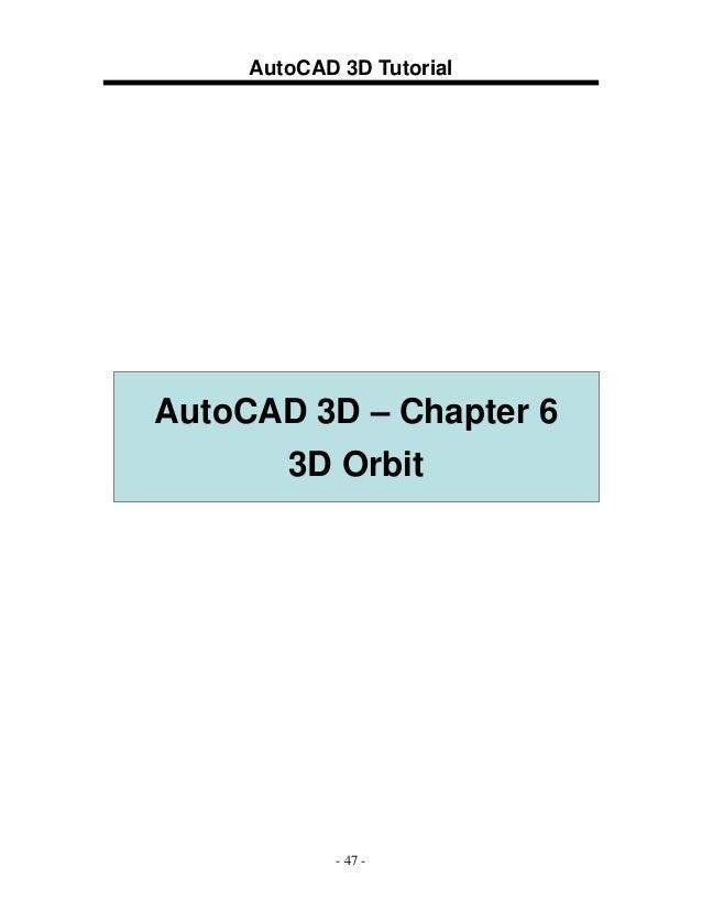 3 d auto cad 2009 rh slideshare net AutoCAD Manual Book manual autocad 2009 3d español pdf