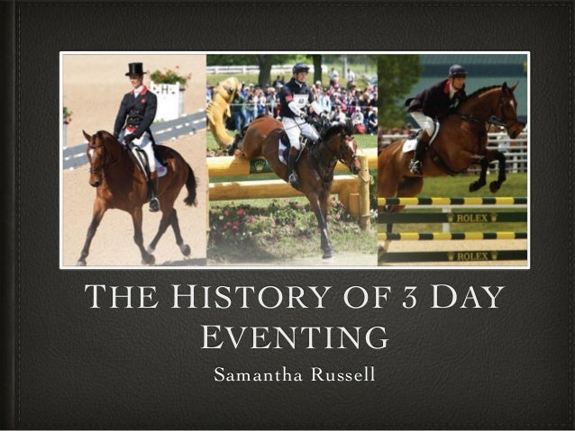 3 Day Eventing