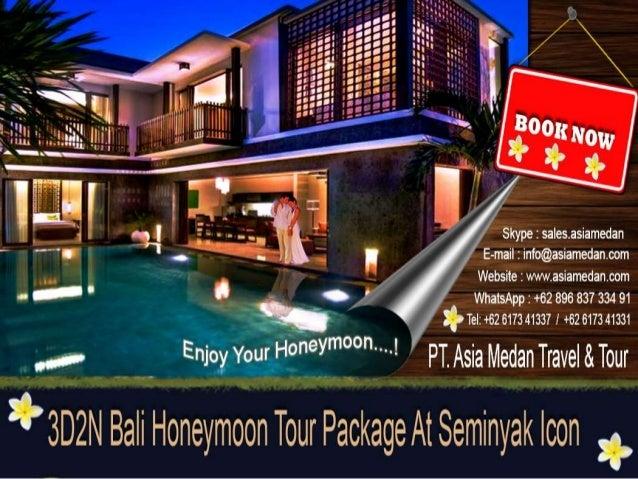 3 Days 2 Night Bali Honeymoon Tour Package At Seminyak Icon