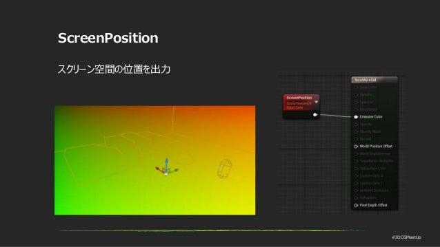 #3DCGMeetUp ScreenPosition スクリーン空間の位置を出力