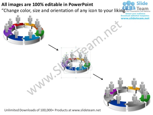 3d circle diagram 8 stages powerpoint templates 0712 diagram your logo 10 ccuart Gallery