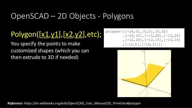 3D Design with OpenSCAD