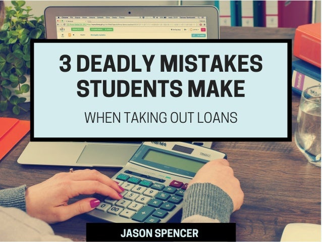 FOR MANY BRIGHT-EYED FRESHMEN, STUDENT LOANS ARE A MEANS TO AN END. IN THOSE FIRST FEW YEARS OF SCHOOL, IT CAN BE TOO EASY...