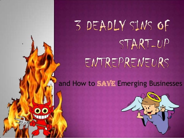 and How to Save Emerging Businesses