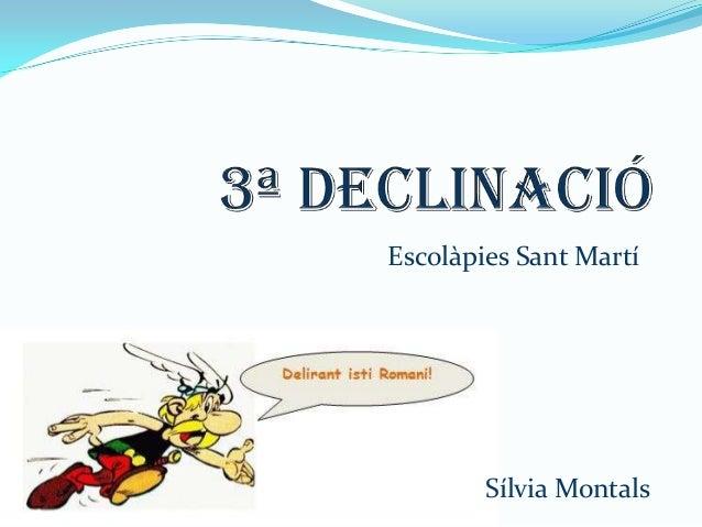 Escolàpies Sant Martí  Sílvia Montals