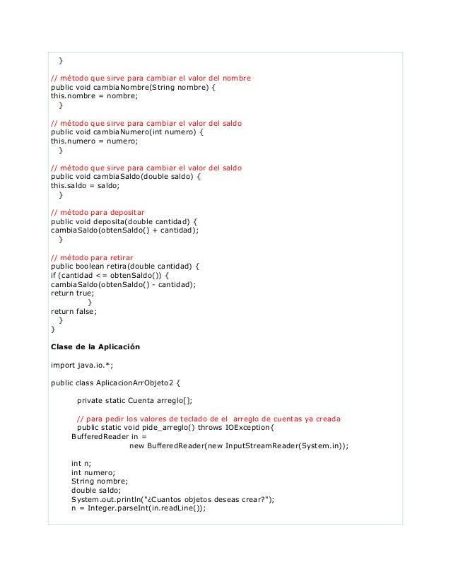 }// método que sirve para cambiar el valor del nombrepublic void cambiaNombre(String nombre) {this.nombre = nombre;}// mét...