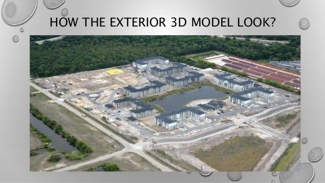 HOW THE EXTERIOR 3D MODEL LOOK?