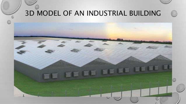 3D MODEL OF AN INDUSTRIAL BUILDING