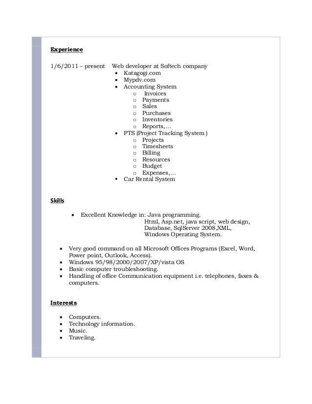 Alaa Jaafar CV Slide 2