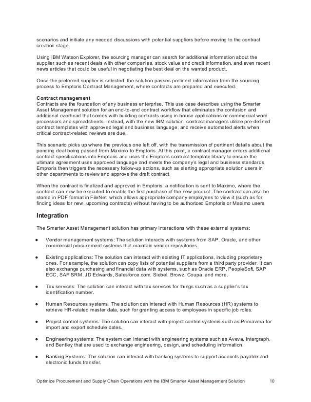 vendor management job description
