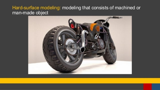 Hard-surface modeling: modeling that consists of machined or man-made object