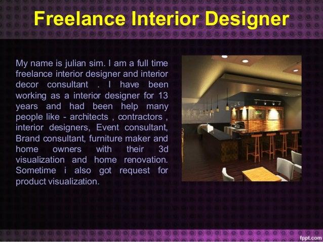 3d Freelance Interior Designer