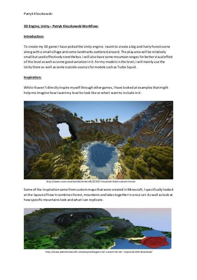 3D Game Engine Workflow