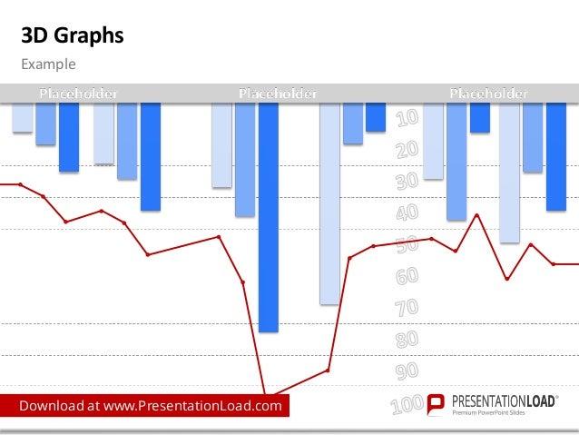 Powerpoint 3d Graphs Template