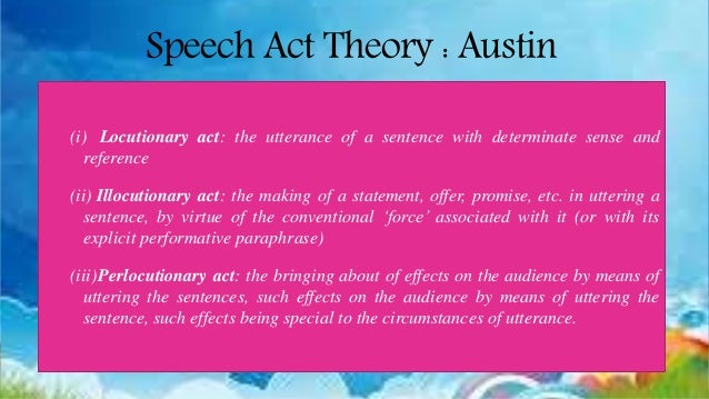 Austin performative utterances philosophical papers
