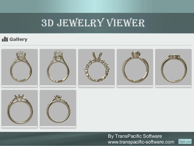 3D Interactive Jewelry Viewer