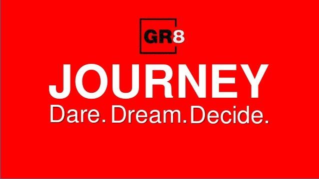 JOURNEY Dare.Dream.Decide.