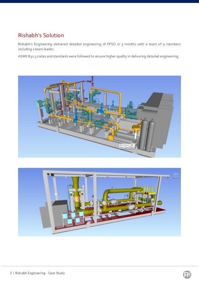 3D Modeling & Detail Engineering for Metering Skid of FPSO Catcher