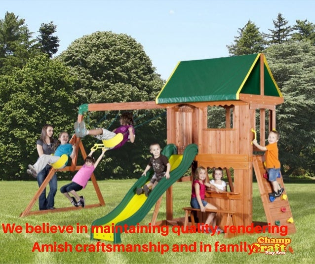 Champ Craft Playsets Is One Of The Largest Manufacturers Of Backyard - Backyard playground equipment