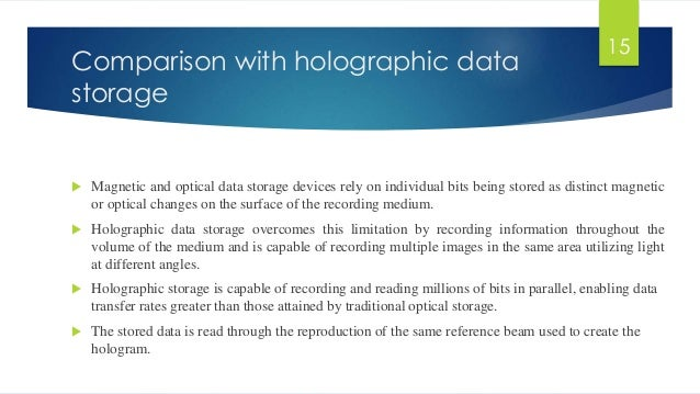 3d optical storage Optical data storage devices offer an efficient and economical way of storing and retrieving large amount of data at a high performance levelthe optical data storage devices market is.