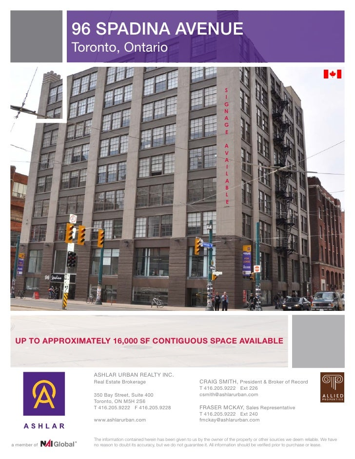 3 downtown west office space toronto july 3