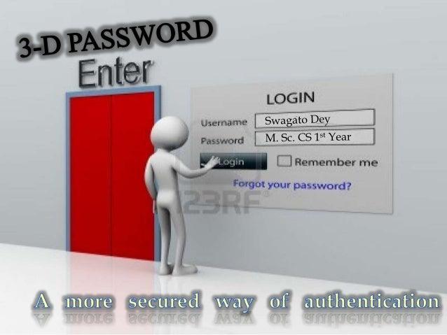 3d authentication