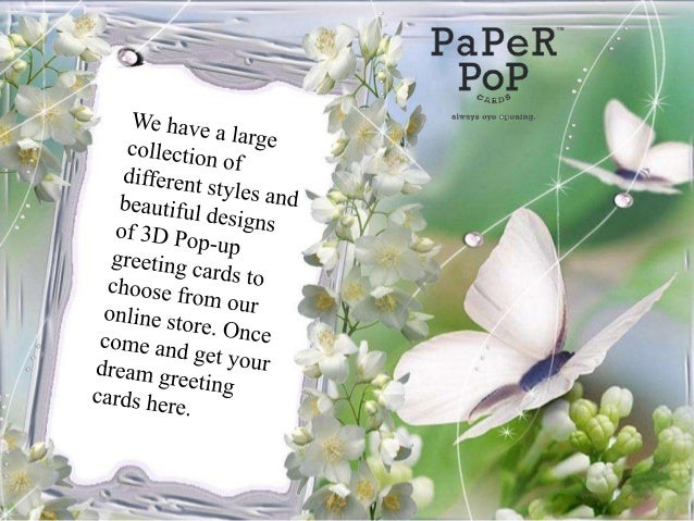 3d pop up greeting cards birthday mothers day cards online paper po m4hsunfo