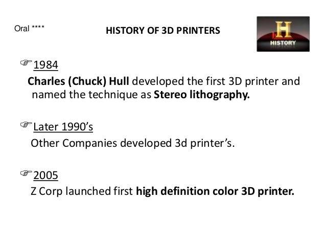 3D printer Technology _ A complete presentation
