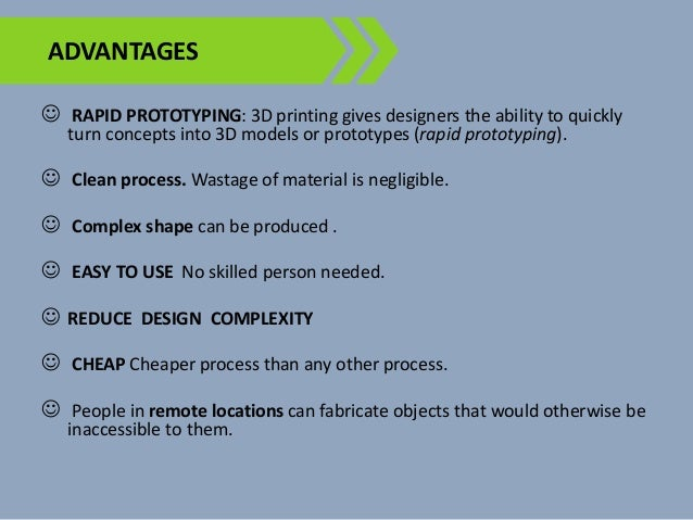 3d Printing: Know its Advantages and Disadvantages