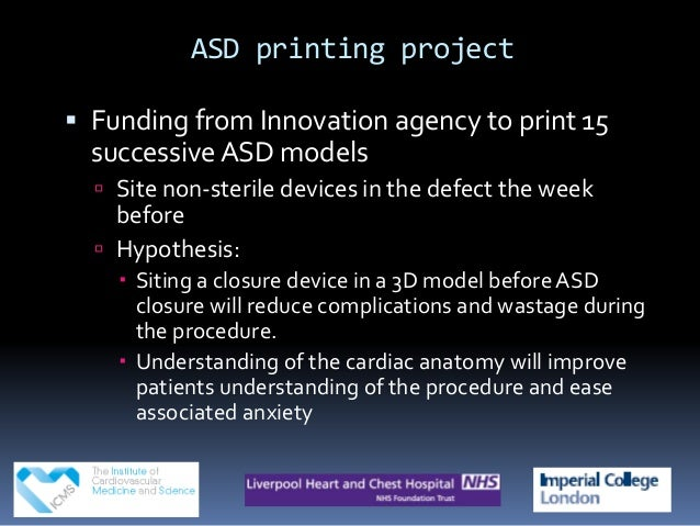 3D Printing at Liverpool Heart and Chest
