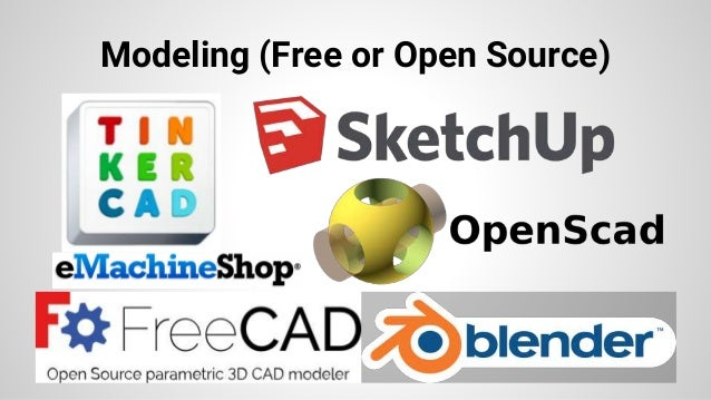 Modeling (Free or Open Source)